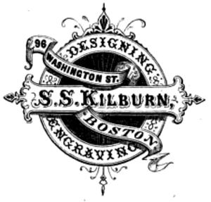 Samuel Smith Kilburn - Image: Logo Specimen of Designing by SS Kilburn ca 1865
