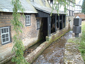 History of Goslar - The Lohmühle mill