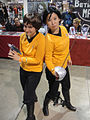 Long Beach Comic & Horror Con 2011 - original series Star Trek girls (6301174101).jpg