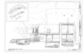 Longitudinal Section Levels 1, 2, and 3.8 - Montezuma Castle, Off I-17, Camp Verde, Yavapai County, AZ HABS ARIZ,13-CAMV.V,1- (sheet 16 of 20).png
