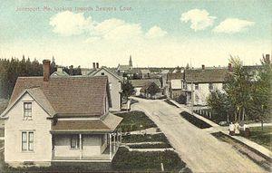 Jonesport, Maine - View of Jonesport in 1908