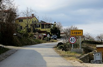 Lopar, Koper - Image: Lopar Slovenia
