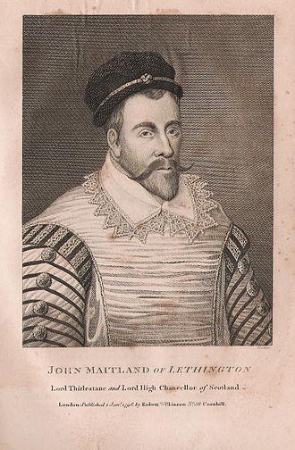 John Maitland, 1st Lord Maitland of Thirlestane - Lord Thirlestane