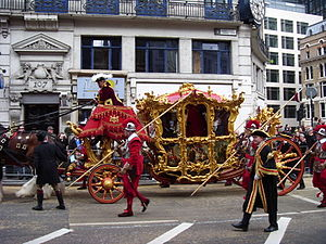 Lord Mayor of London's State Coach - The coach in use at the Lord Mayor's Show (2007)