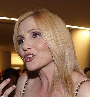 Lorella Cuccarini Italian actress, singer and dancer