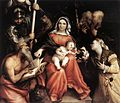 Lorenzo Lotto - Mystic Marriage of St Catherine - WGA13686.jpg