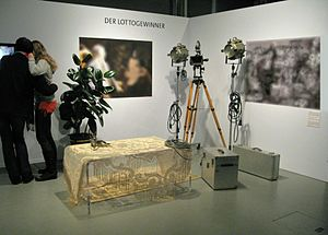 """Museum of Film and Television Berlin - Exhibition on the German comedian """"Loriot"""" in the Filmmuseum Berlin"""