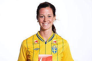 Lotta Schelin Swedish footballer
