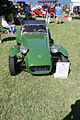 Lotus Super Seven 1961 Roadster AboveHood Lake Mirror Cassic 16Oct2010 (14690520860).jpg