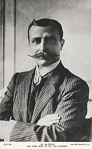 Le premier aviateur breveté: Louis Blériot