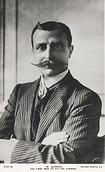 Louis Blériot French aviator, inventor and engineer