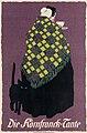 Louis Oppenheim - Die Kornfranck-Tante, c. 1908, poster, 72 by 48 cm.jpg