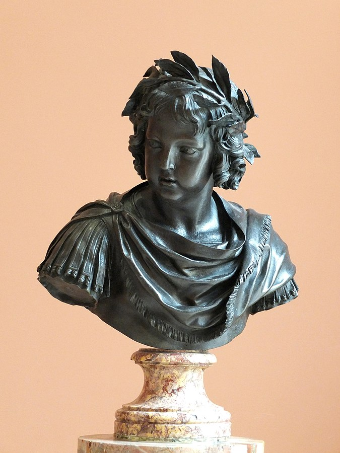 Bust of Louis XIV at the age of five