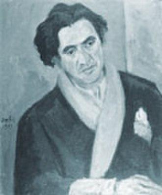 Louis Guilloux - portrait of Guilloux by Eugène Dabit