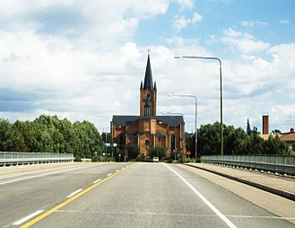 Loviisa - Image: Loviisa church