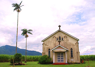 Lower Tully, Queensland - Catholic Church among the canefields, Lower Tully, 2009