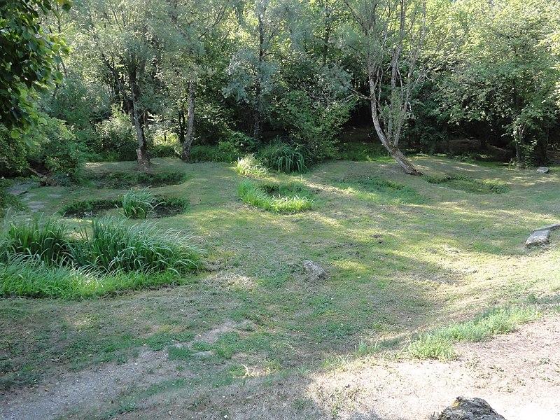 Lucey (Meurthe-et-M.) Les roises, trous d'eau pour rouir le chanvre