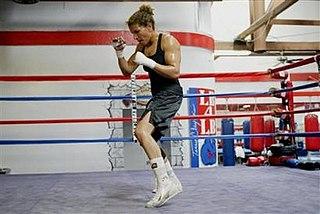 Lucia Rijker Dutch boxer