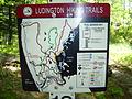 Ludington State Park hiking trails.JPG