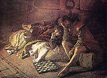 Annibale Bentivoglio prigioniero nel castello di Varano (1869)