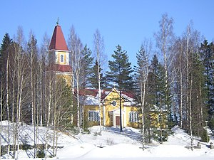 Urjala - Image: Lutheran Church Halkivaha
