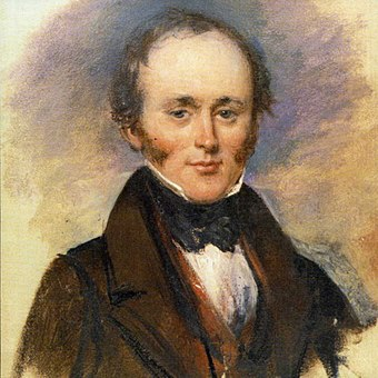 Charles Lyell at the British Association meeting in Glasgow 1840