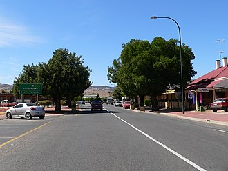 Lyndoch, South Australia - Main street of Lyndoch
