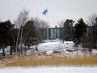 President of Finland - Mäntyniemi the private residence of the president