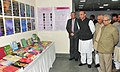 M.M. Pallam Raju going round an exhibition, at the inauguration of the newly constructed administrative cum academic block of the Lal Bahadur Shastri Rashtriya Sanskrit Vidyapeetha.jpg