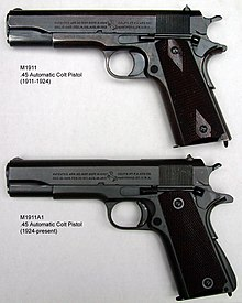 M1911 pistol - Wikipedia, the free encyclopedia