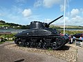 M4 Sherman Tank memorial at Torcross Devon - panoramio.jpg
