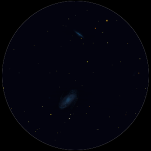 M81 al telescopio 114mm