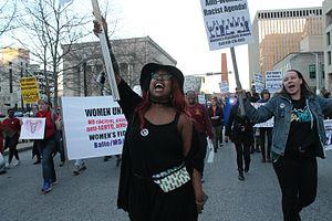 International Women's Strike - Women strike in Baltimore on March 8th