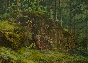 Trees and Undergrowth (Van Gogh series) - Marie-Ferdinand de Dartein, Sous-bois à Ottrott, 1875