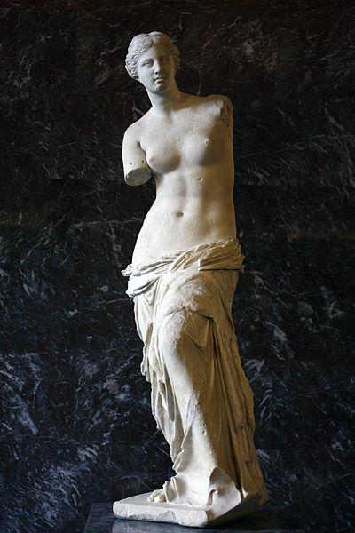 Venus de Milos. Foto: Wikimedia