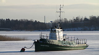 Finnish transport vessel <i>Wilhelm Carpelan</i> ship