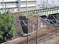 MT-Jingū-mae Station-Former line abutment.JPG