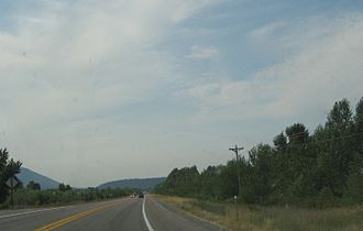 Transportation in Montana - U.S. Route 93 in Montana