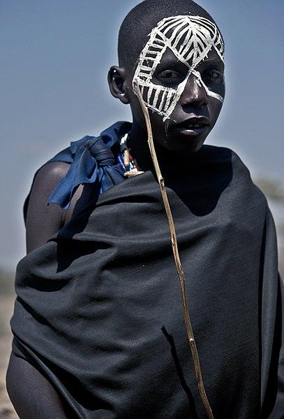 File:Maasai Youth.jpg