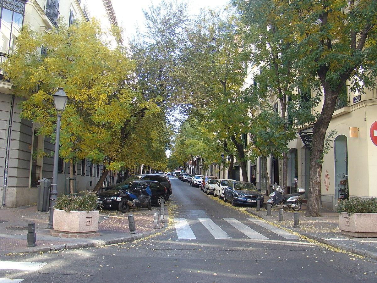 Calle de villanueva wikipedia la enciclopedia libre for Calle prado 9 madrid