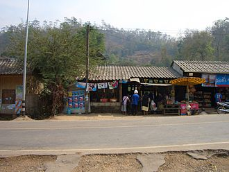 Saharat Thai Doem - The northern loop on Highway 1285 from Mae Hong Son was based on the original network of roads built in 1943 to connect Saharat Thai Doem with the rest of Thailand
