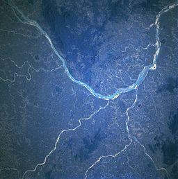 महानदी उपग्रह से लिया गया चित्र