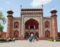 Main Gateway - South Facade - Taj Mahal Complex - Agra 2014-05-14 3753-3754.TIF