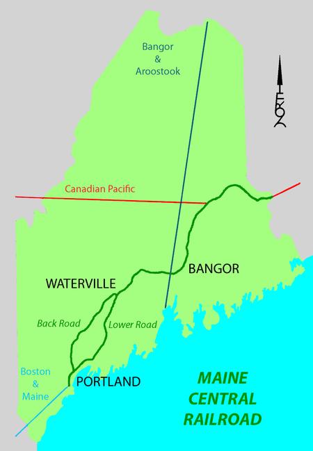 Maine Central Railroad Main Line Wikipedia