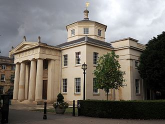 Downing College, Cambridge - The Maitland Robinson Library by Quinlan Terry, completed in 1992.