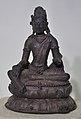 Maitreya - Bronze - Pala Period Circa 9th-10th Century AD - Nalanda - Archaeological Museum - Nalanda - Bihar - Indian Buddhist Art - Exhibition - Indian Museum - Kolkata 2012-12-21 2309.JPG