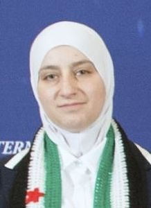 Majd Chourbaji (Syria) - 2015 - International Women of Courage Award.jpg