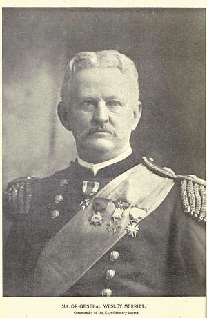 Wesley Merritt - Major General Wesley Merritt, 1st American Governor General of the Philippines