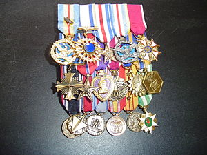 John L. Borling - Medals Awarded