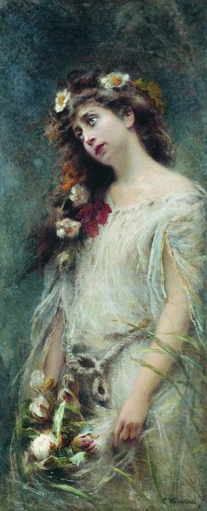Konstantin Makovsky - Makovsky's Ophelia